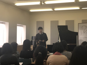 ピアノの「深いぃハナシ」レポート