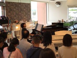 大人のためのピアノコンサート!!