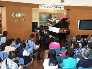 ピアノDuoコンサート!!