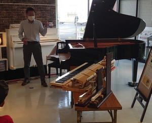 ピアノ解体ショー実施しました!