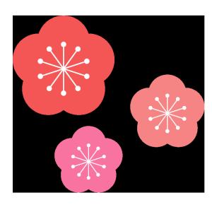 Simple_ume_flower02300x300