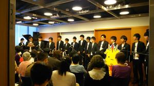 石若雅弥 サロンコンサート with Chor.Draft  終演!!