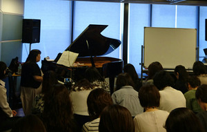 今野万実先生「ブルグミュラー25の演奏法講座」実施いたしました